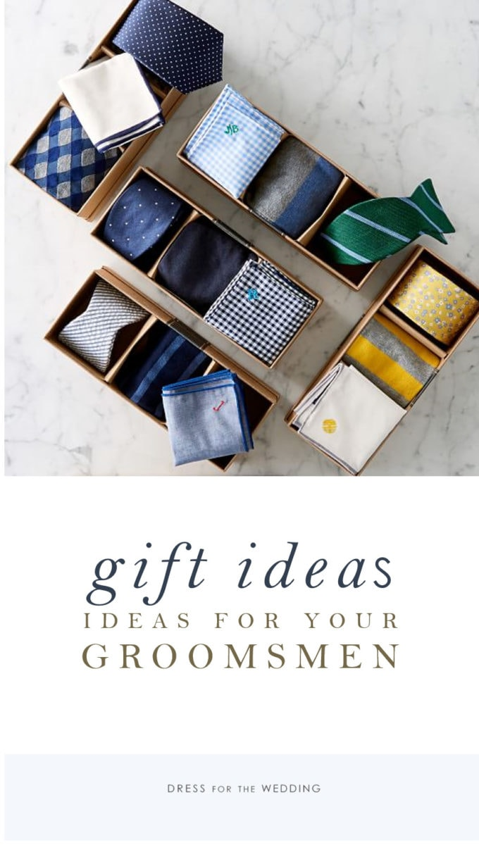 Great gift ideas for groomsmen
