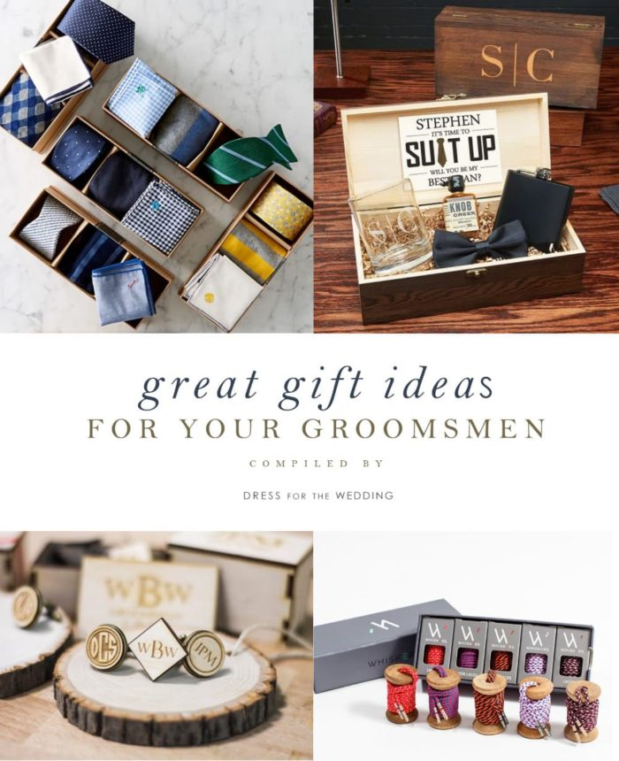 Great gifts for groomsman | What to give your groomsmen