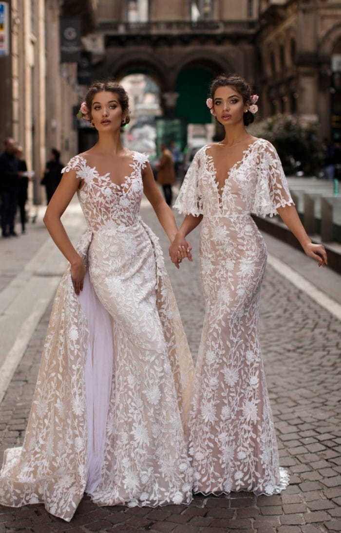 Amazing designer lace wedding dresses