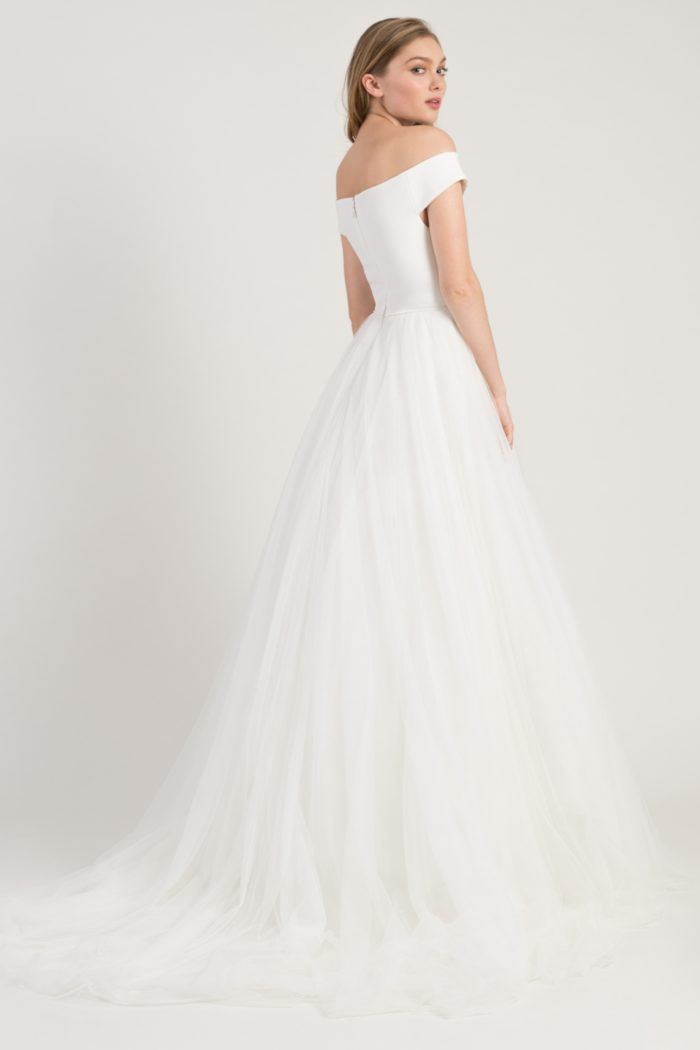 Cap sleeve tulle ball gown wedding dress | Jenny by Jenny Yoo Spring 2019 wedding dresses