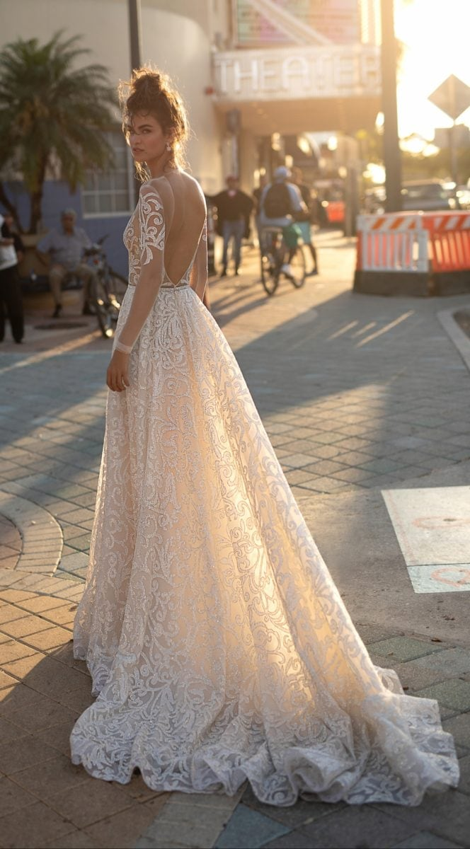 Long sleeve Berta 2019 Spring/Summer 2019 BERTA Bridal
