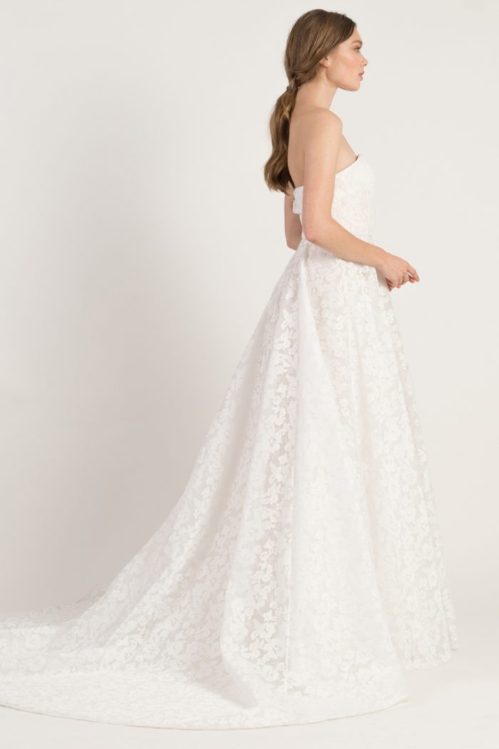 Lace ballgown bridal gown