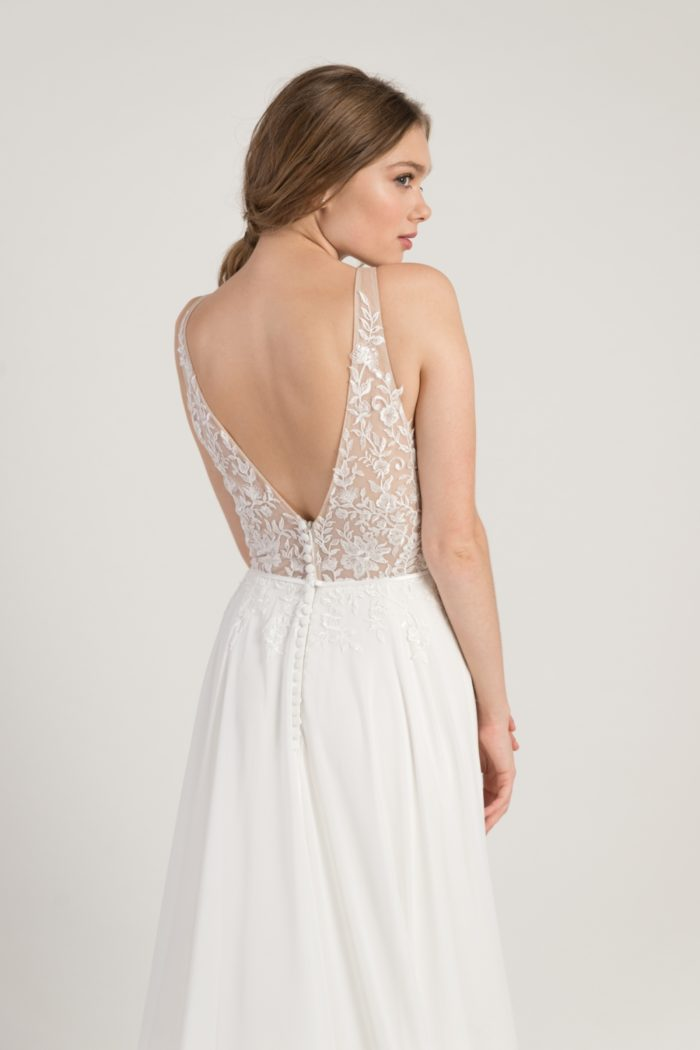 V back wedding dress | Martina Jenny by Jenny Yoo