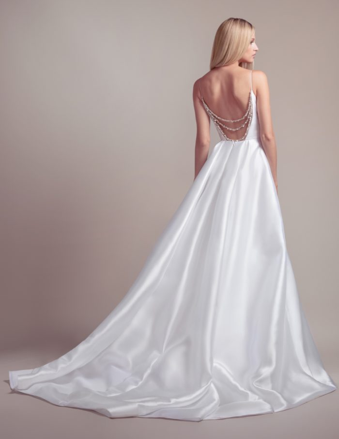 Beaded back ballgown wedding dress from Blush by Hayley Paige 2019 wedding dresses