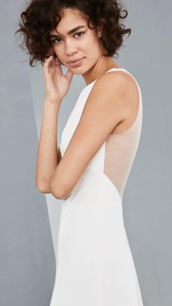 0438d658408f Short White Designer Wedding Dresses