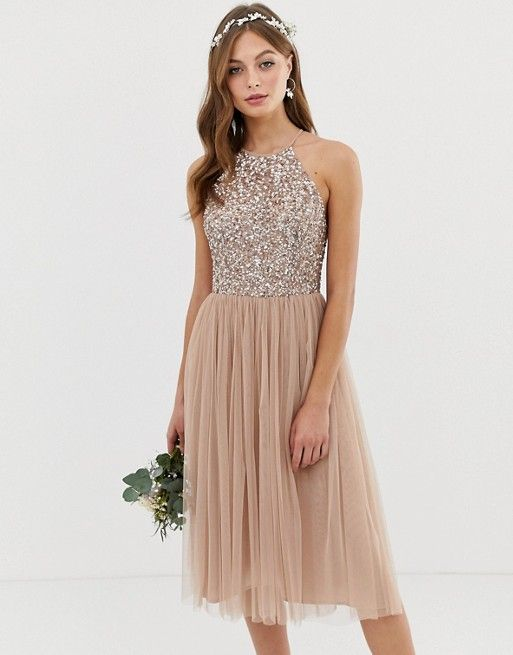 Asos Bridesmaid Dresses 2019 Sparkling tulle d82955f72