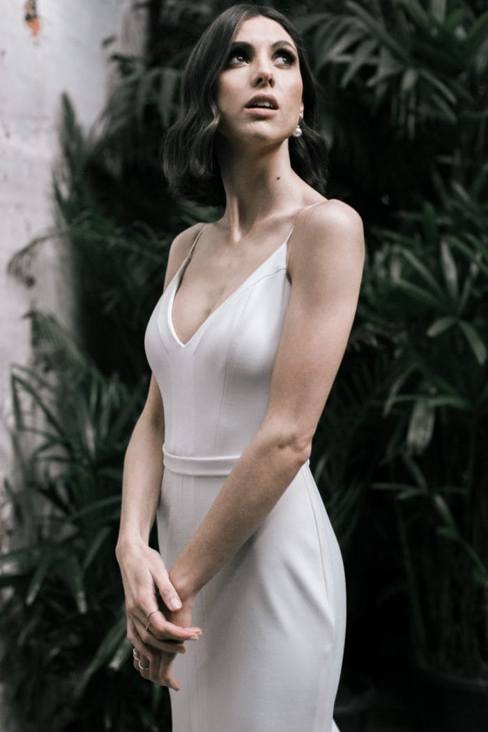 Wild Hearts Bridal Collection | Caroline detail