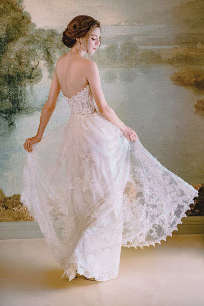 Anais Gown by Claire Pettibone