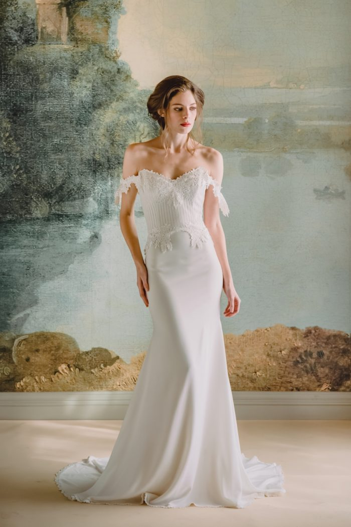 Arabella wedding dress by Claire Pettibone 2019