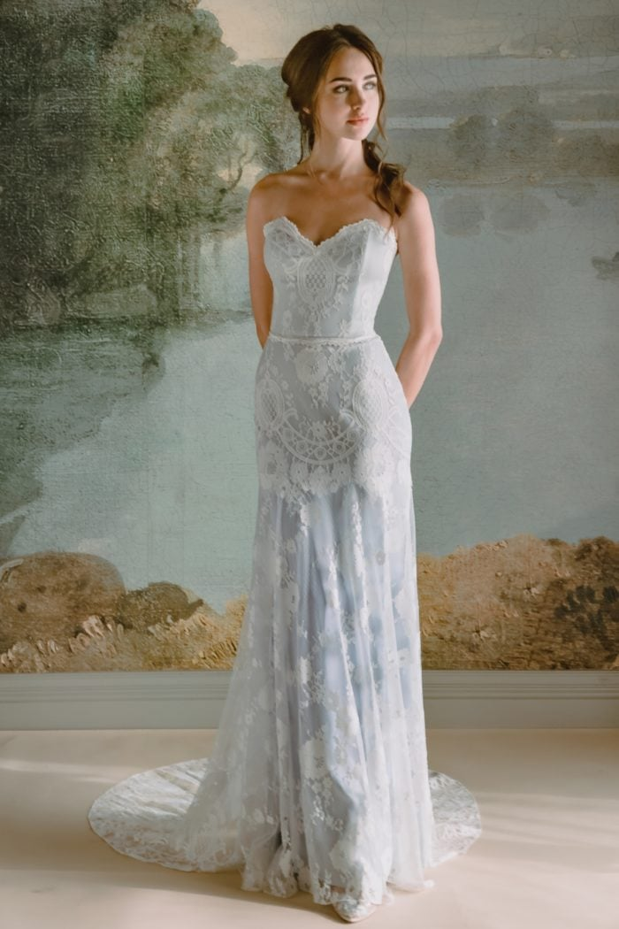 Eloise wedding dress by Claire Pettibone