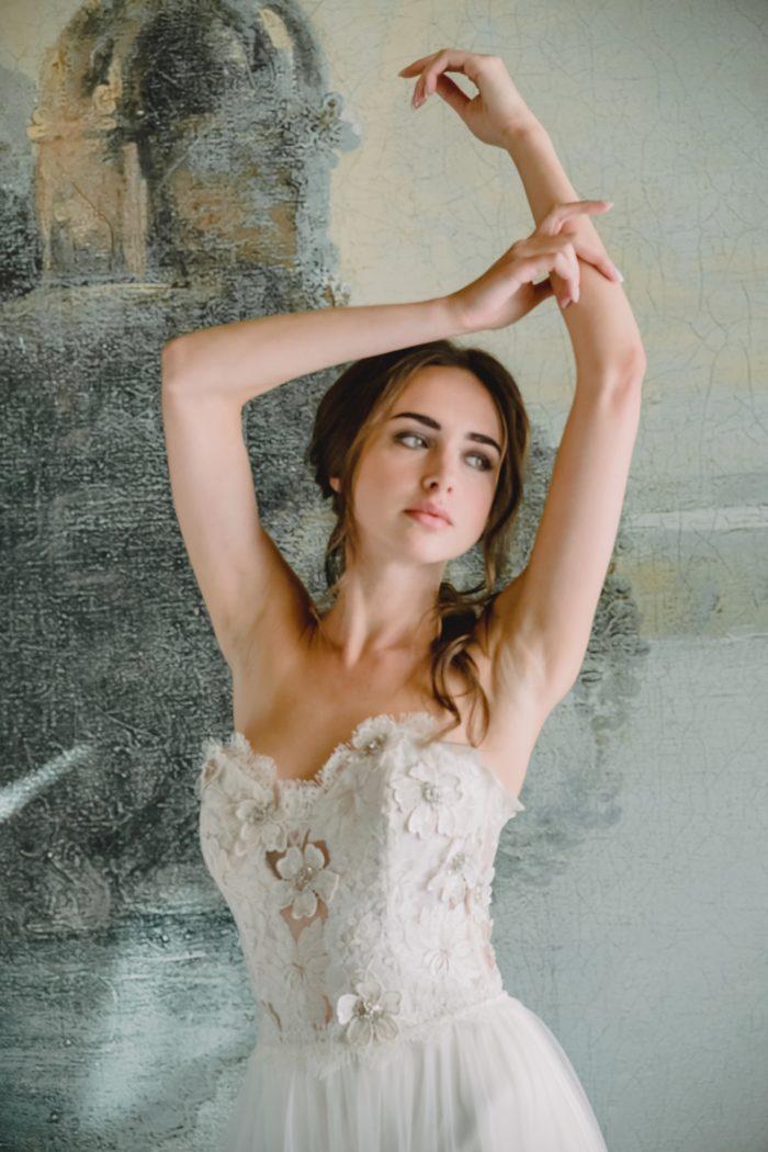 Lucinda bridal gown Claire Pettibone