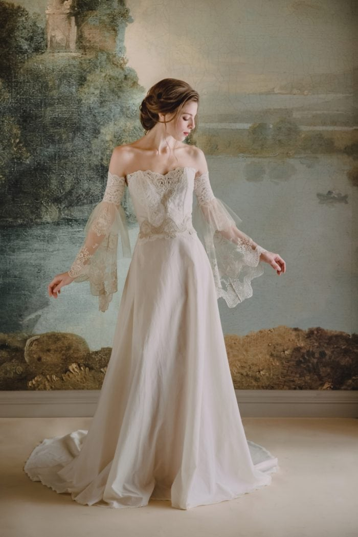 Marie wedding dress by Claire Pettibone