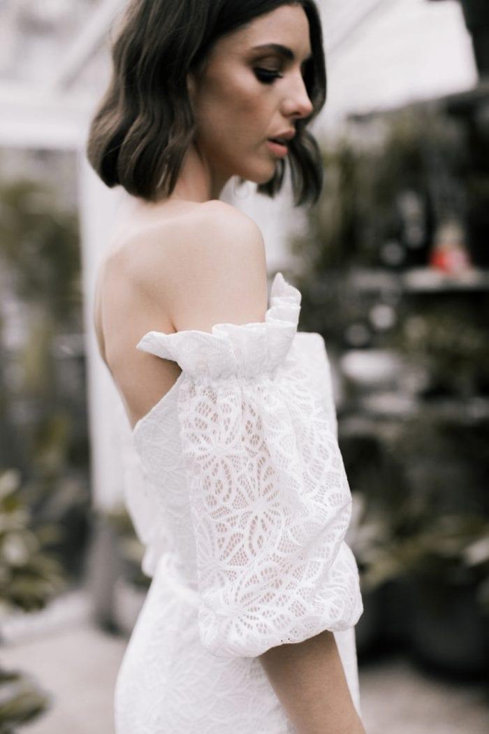Vivienne wedding dress Karen Willis Holmes