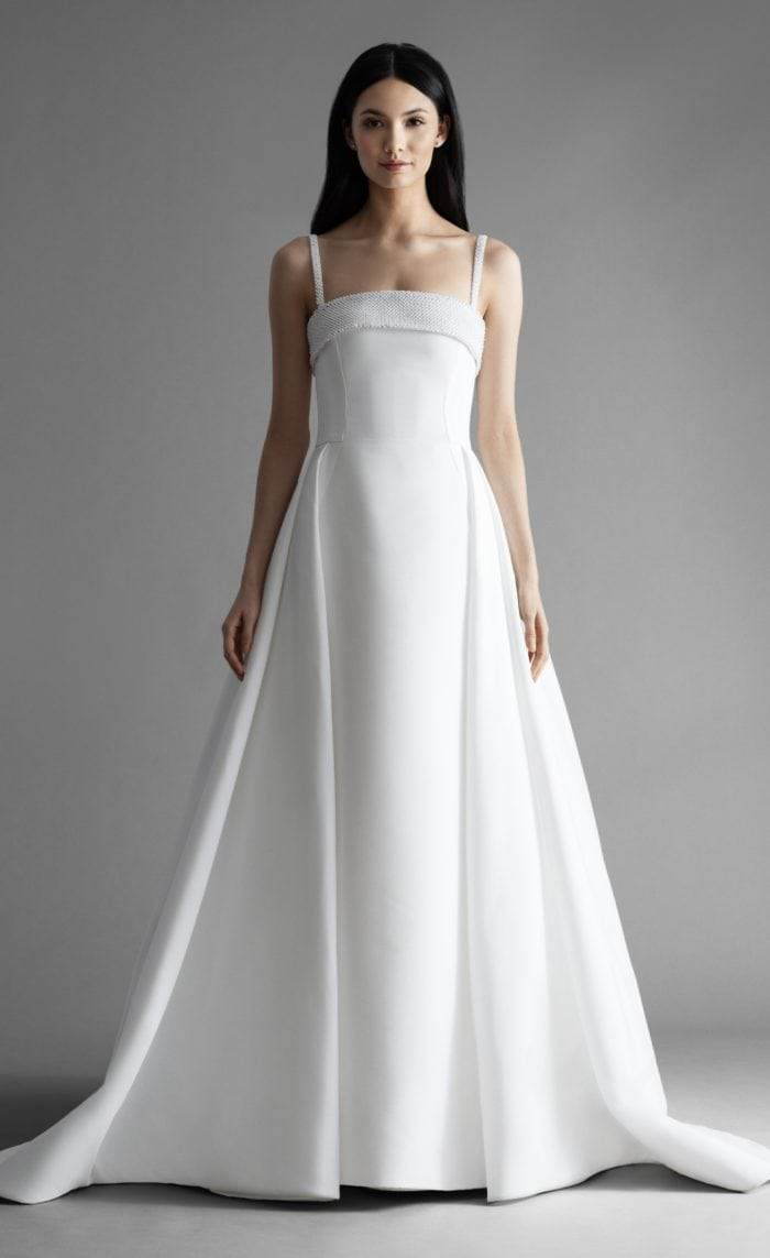 Kensington wedding dress by Allison Webb
