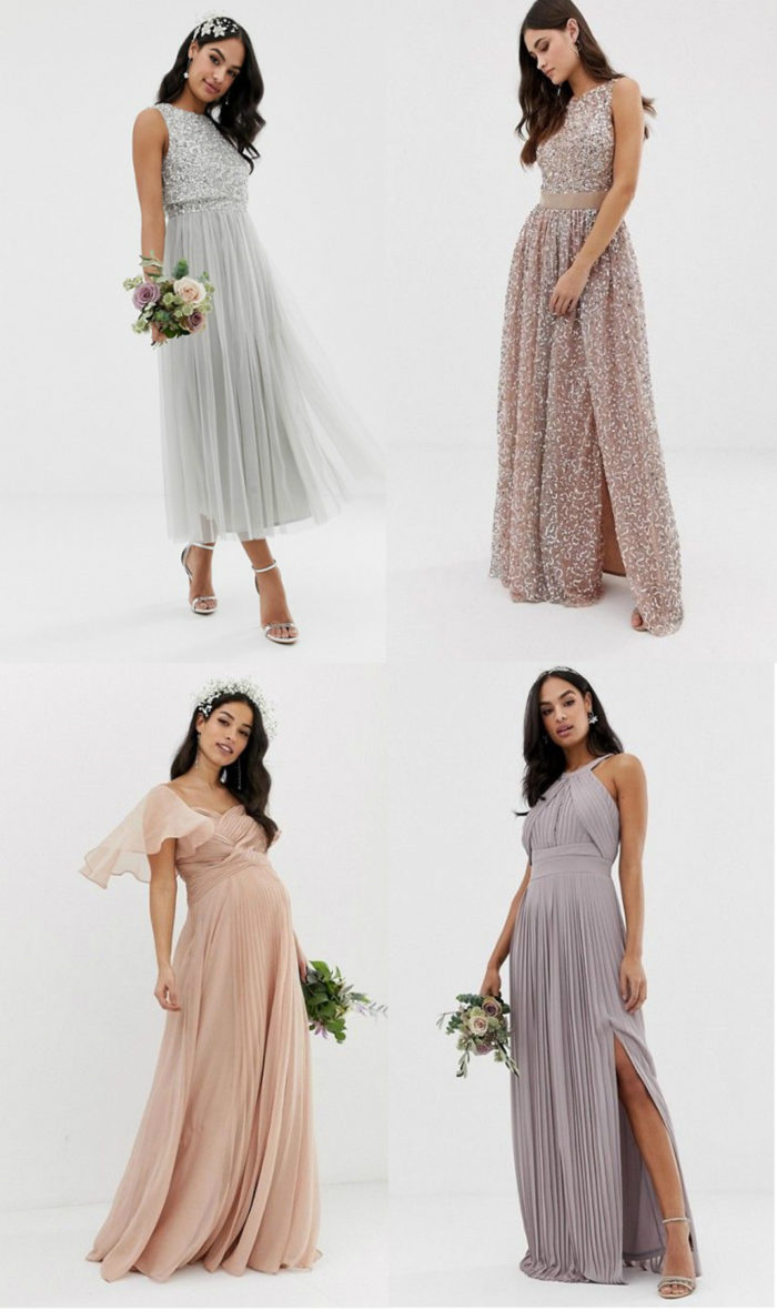 New spring summer 2019 bridesmaid dresses