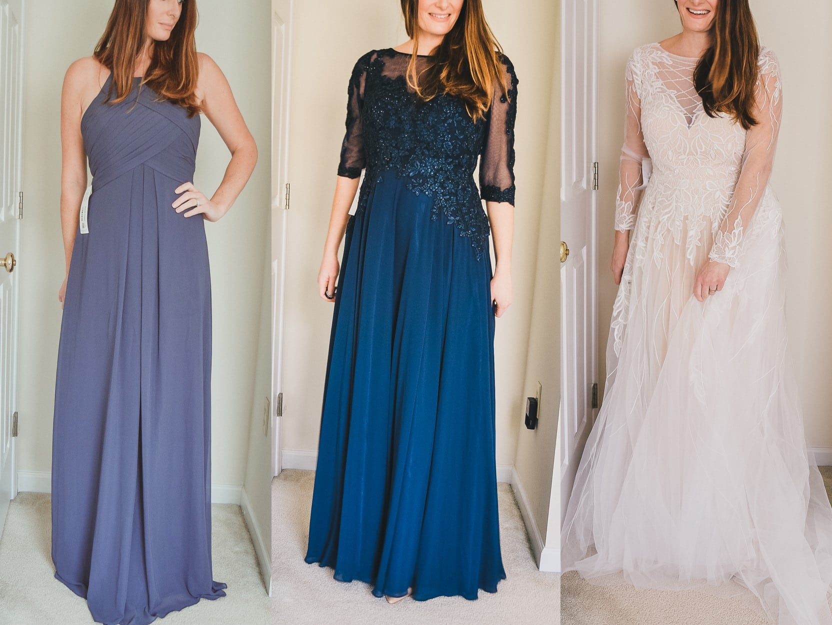 f53dfcc8c56a8 Trying Out Dresses from the Azazie Try At Home Program | Dress for ...
