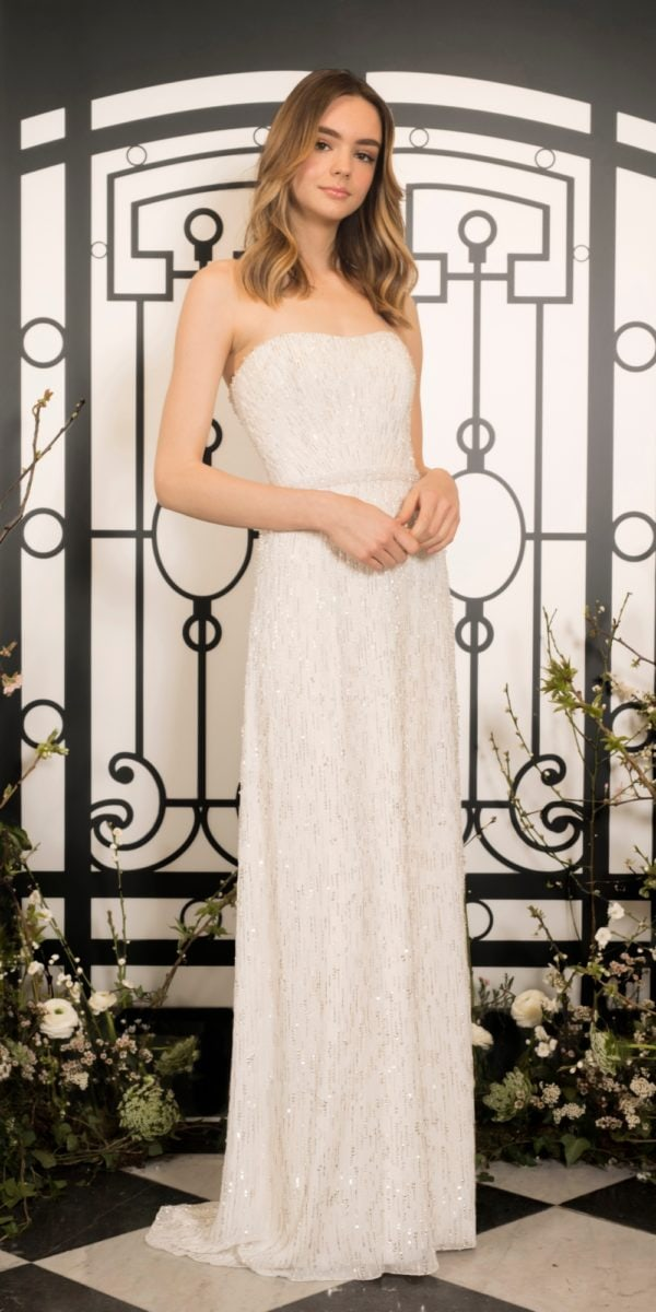Bianca, a strapless wedding dress by Jenny Packham 2020