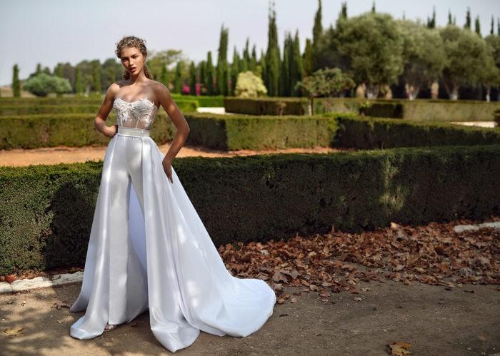 Galia Lahav Bridal Pantsuit
