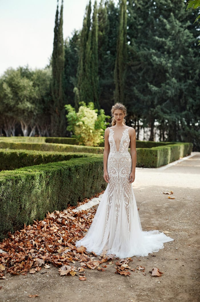 Hand beaded wedding gown Gala Galia Lahav