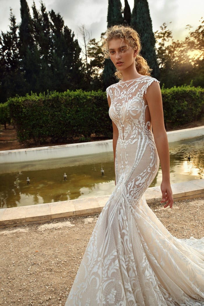 High neck mermaid wedding dress | Galia Lahav Gala Bridal