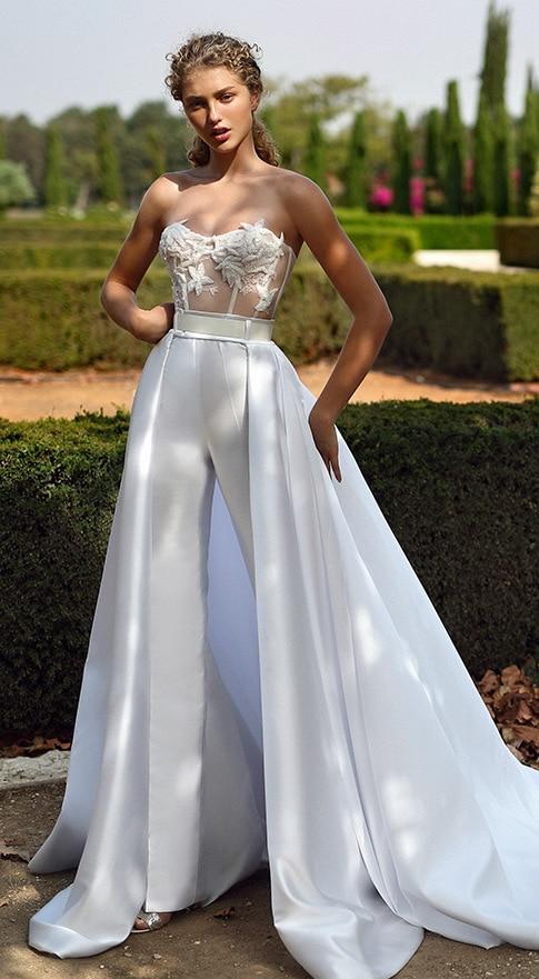Designer Bridal Pantsuit Gala Galia Lahav
