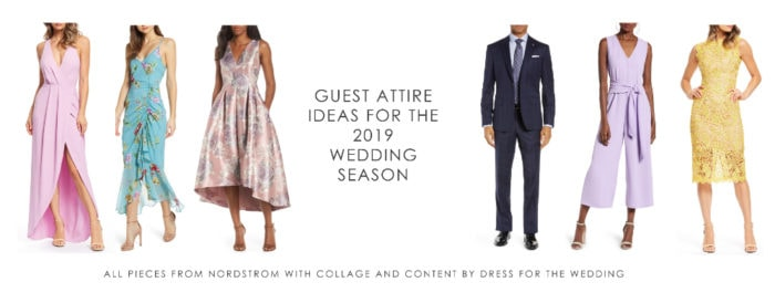 Getting Ready For The 2019 Wedding Season With Nordstrom Dress For