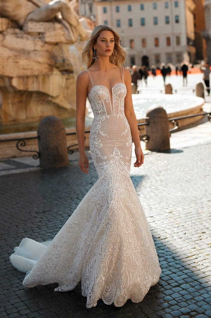 Mermaid bridal gown | 2020 Berta Privee Wedding Dresses