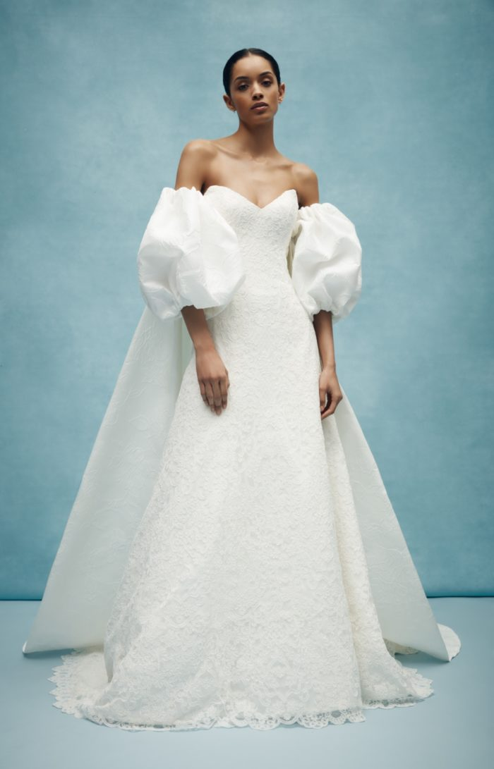 Anne Barge wedding dresses with puffed sleeves