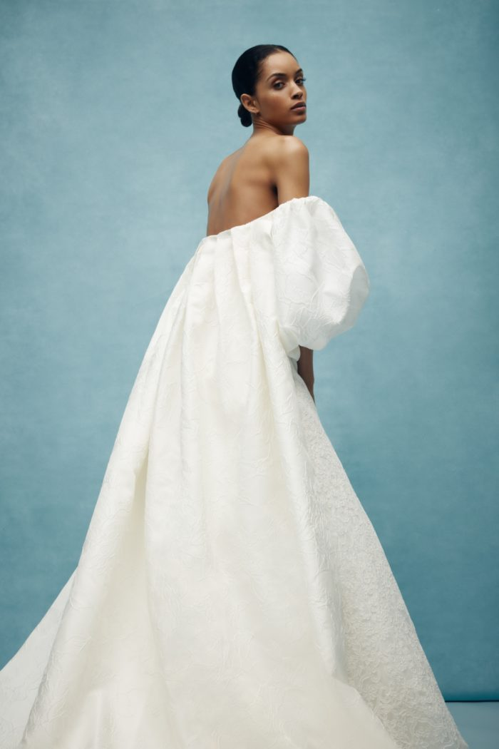 Anne Barge modern wedding dress