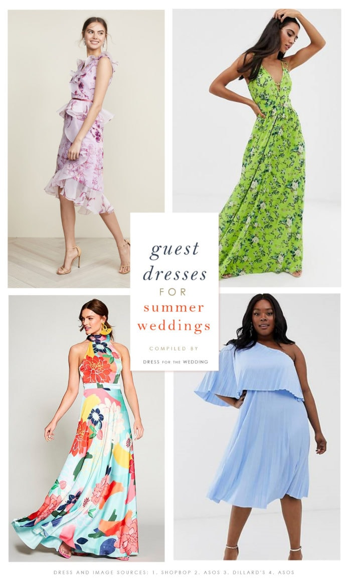 summer wedding guest dresses 2019