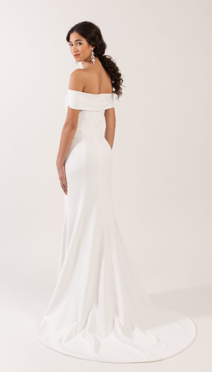 Off the shoulder wedding dress Jenny by Jenny Yoo Cooper