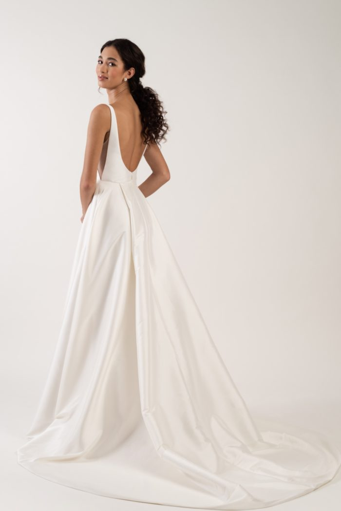 Back detail Lawrence gown Jenny by Jenny Yoo
