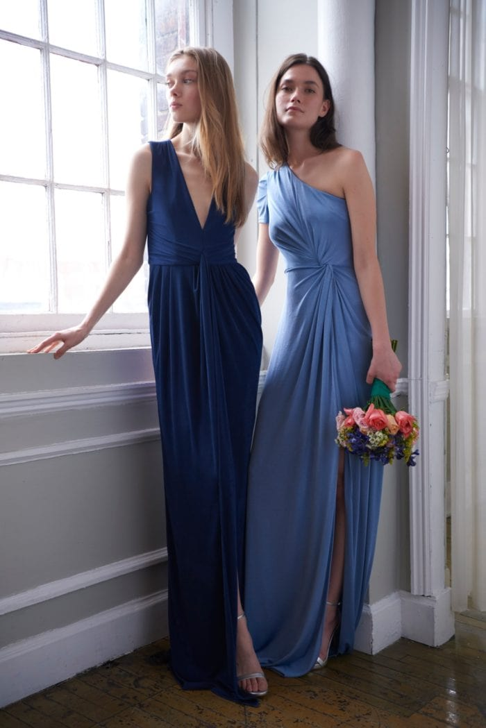 Logan and Reagan Monique Lhuillier Bridesmaid dresses Spring 2020