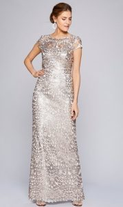 Sequined Mother of the Bride or Groom Dresses
