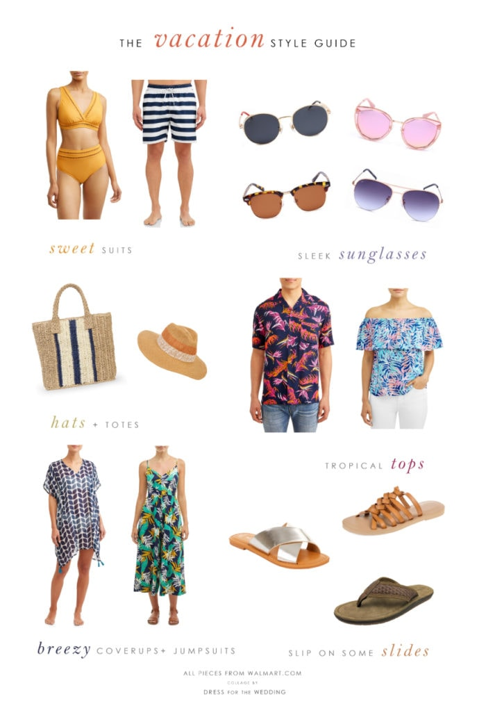 Ideas for vacation and honeymoon outfits