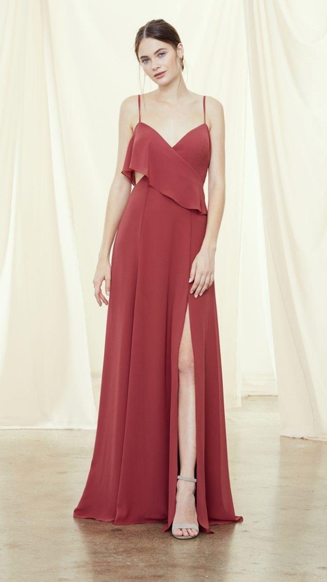 Elegant Amsale bridesmaid dresses