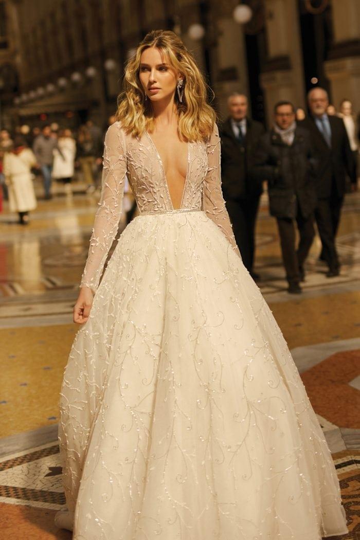 Ballgown wedding dress by Berta