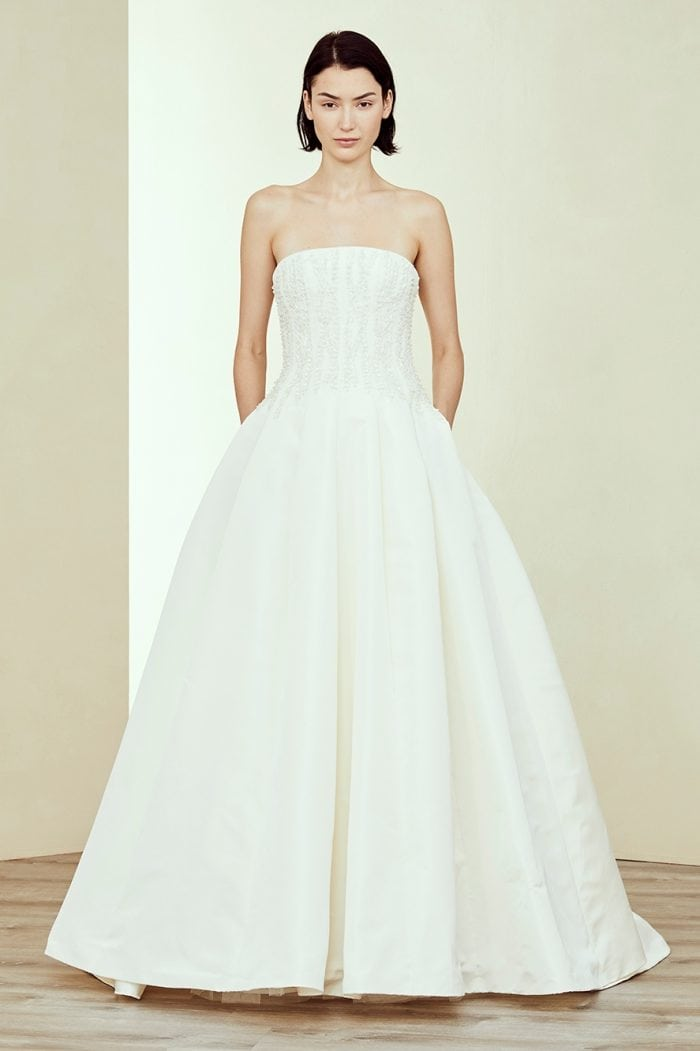 Bingham Amsale Wedding Dress