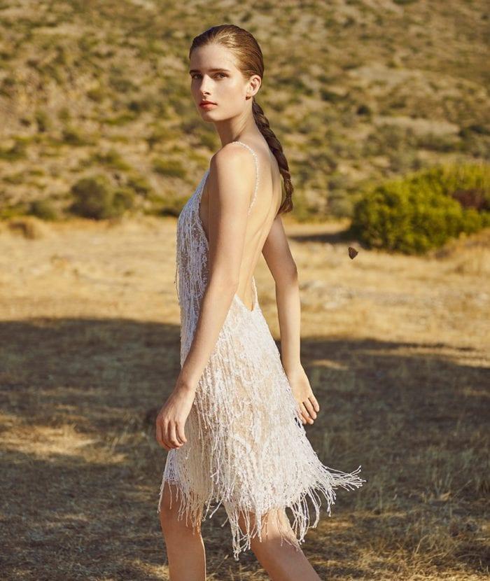 Asteria Costarellos Bridal Gown
