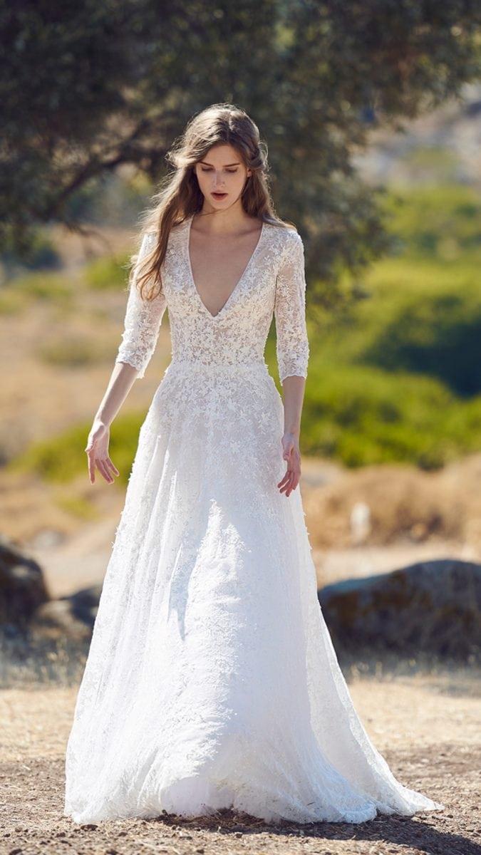 Greek inspired designer bridal