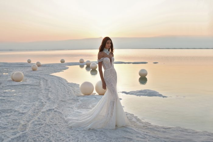 Fields of Pearls Collection Sunset Gown