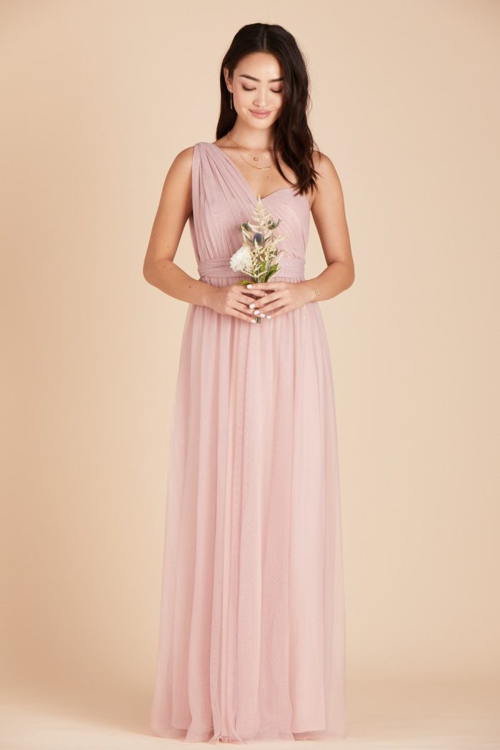Pink Convertible Bridesmaid Dresses Under 100