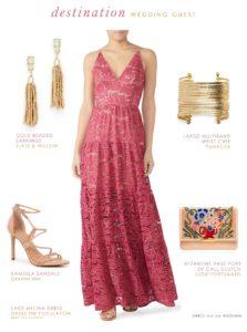 Wedding guest dresses for destination weddings