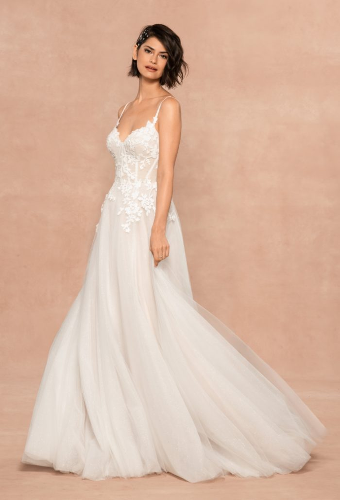 Isla Gown Blush by Hayley Paige