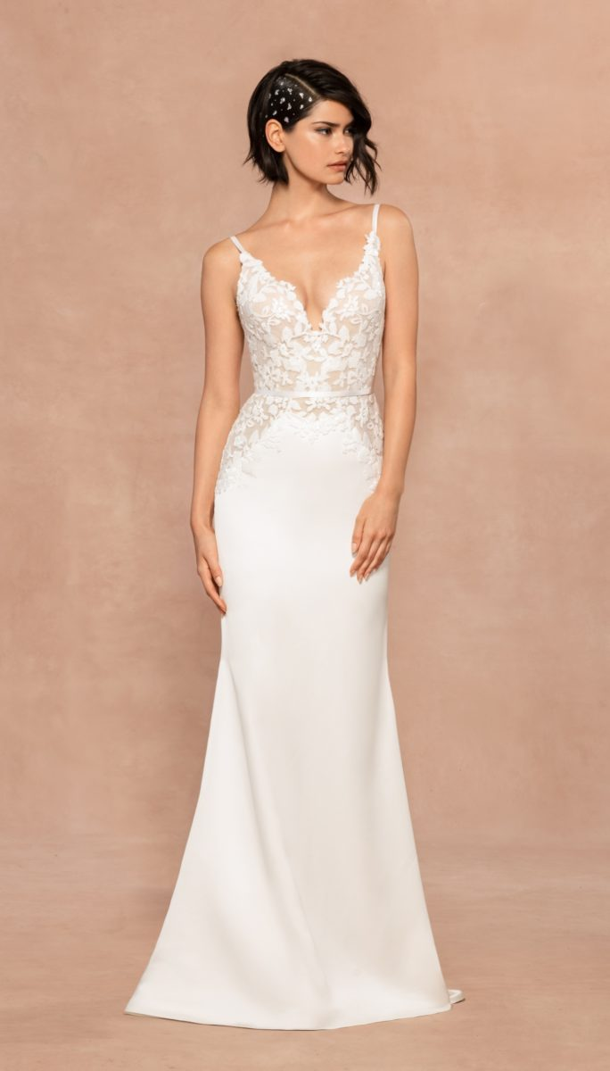Aries Blush by Hayley Paige Wedding Dress
