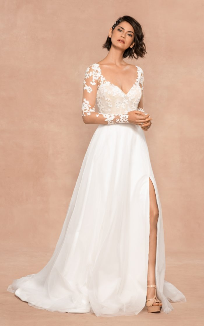 Remi wedding dress from Hayley Paige