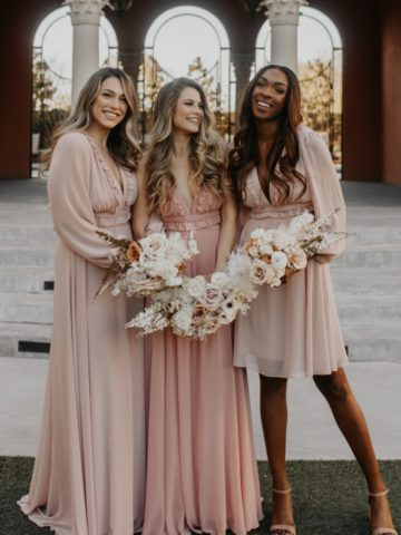 Mix and Match Lovely Bridesmaid Dresses