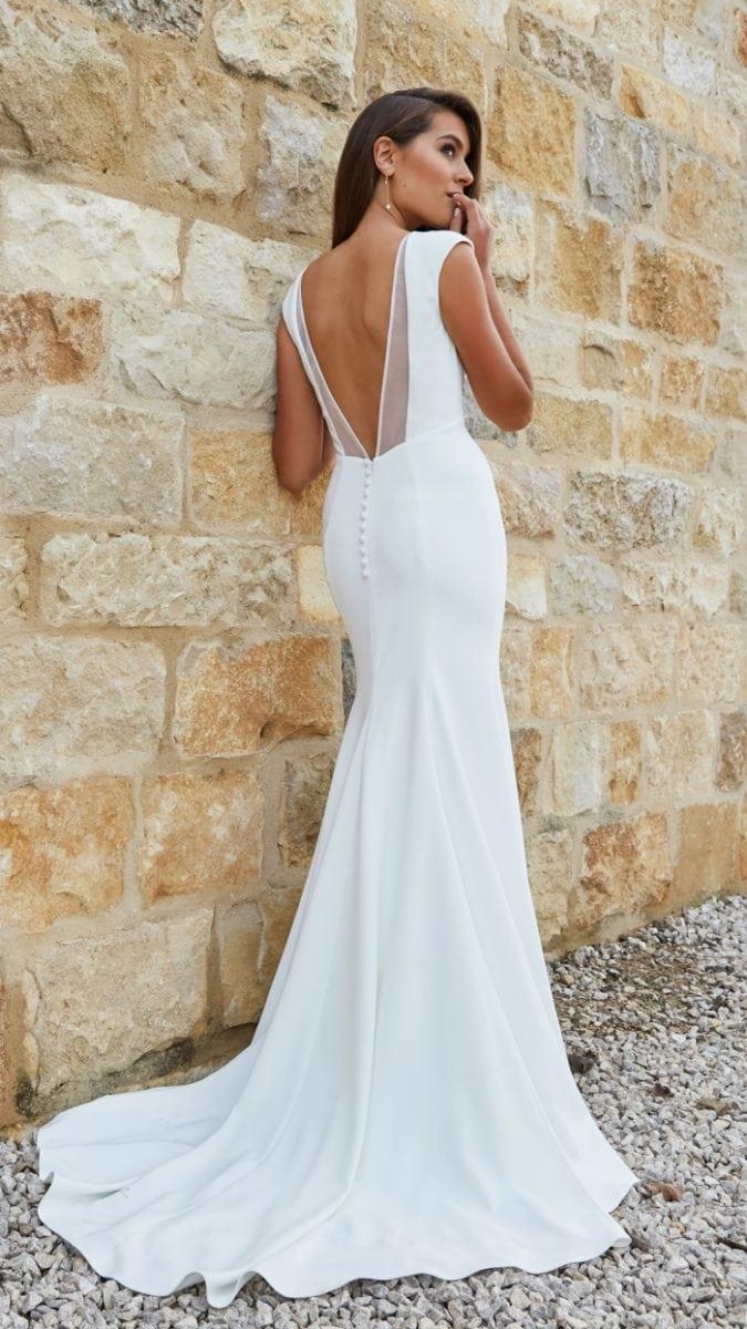 Back detail Gretchen Gown