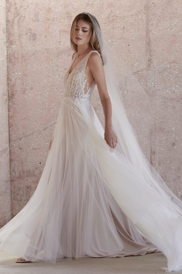 Beaded bridal gown Kroes