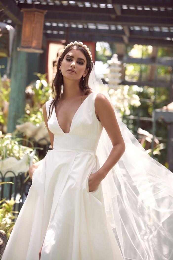Wtoo Wedding Dresses with Pockets Spring 2020